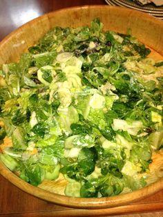 Appetizer Salads, Appetizers, Polish Recipes, Palak Paneer, Us Foods, Lettuce, Quiche, Feta, Noodles