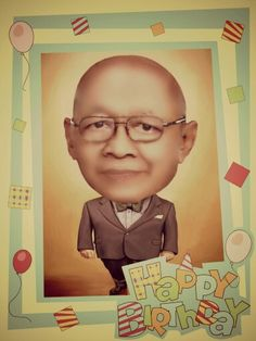 #happy #birthday Prof. Sadtono