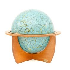 Celestial globe - I would love to build a collection of globes and I haven't seen a celestial globe before.