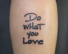 short meaningful tattoo quote on love and romance