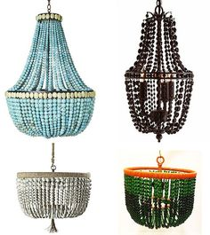 I love the top two! Maybe this will be a way to use the billion beads I have acquired over the years....