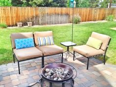 A Super Easy Way To Recover Your Old Patio Cushions! Learn To Put In A