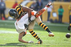"Mike Mitchell's ""FAKE TOUGH"" hit on Marvin Jones! Uh, Huh Marvin!!! Week 8, 2015"