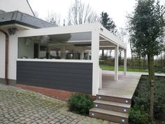 Biossun benelux project terrasoverkapping pergola couverture de ...