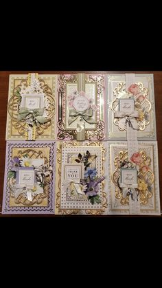 Handmade Birthday Cards, Handmade Cards, Anna Griffin Cards, Scrapbook Cards, Scrapbooking, Cricut Ideas, Flower Pots, Cardmaking, Boutique