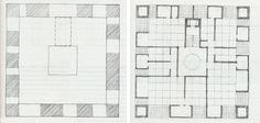 Casa Martinelli, Luigi Snozzi, Lugano, 1971 Planes & Alcoves. Lugano, Architecture Plan, Luigi, Planer, Floor Plans, How To Plan, Alcoves, Inspiration, Thesis