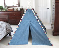 TeePee Tent for Kids http://www.handimania.com/diy/teepee-tent-for-kids.html