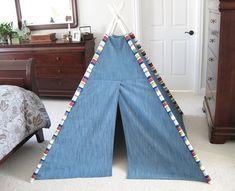 TeePee Tent for Kids http://www.handimania.com/diy/teepee-tent-for-kids.html