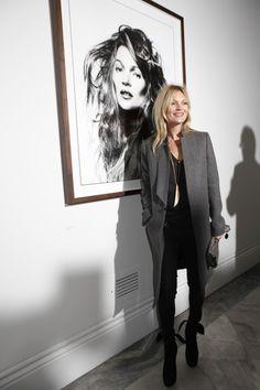 Kate Moss et son portrait par David Bailey | DailyELLE