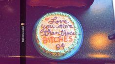 My boyfriend's birthday cake. ✨
