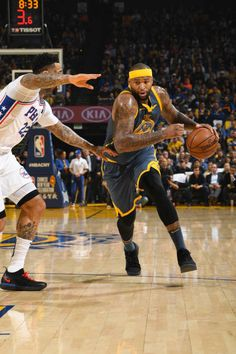 38b7029e8 DeMarcus Cousins of the Golden State Warriors handles the ball during the  game against Wilson Chandler