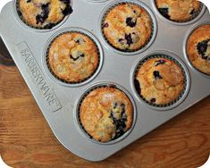 So Tasty So Yummy: Sweet Blueberry Muffins