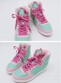 Pastel Dinosaur Sneakers by SWIMMER