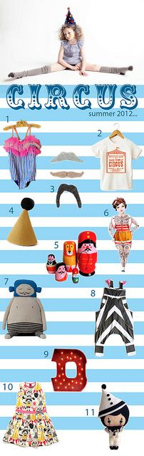 circus summer trend for kids
