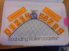 Great visual / math poster to help kids understand rounding