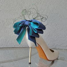 Bridal Party Wedding Navy Blue And Teal Peacock by Chuletindesigns, $40.00