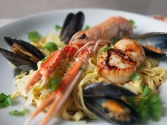 Seafood Linguine - in collaboration with Bertolli