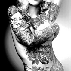 Love a tatted girl... Maybe some day