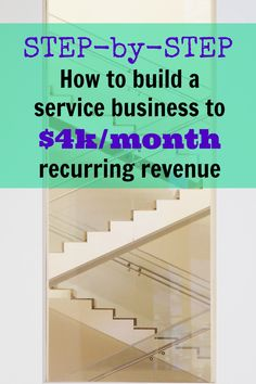 Detailed guide on how to go from no idea to landing your first customers and scaling the business. Step by step how to build a service business to $4k per month recurring revenue, via @sidehustlenation
