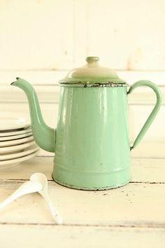 Grandma's coffee pot.
