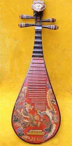 Pipa: It is a plucked Chinese string instrument. Sometimes called the Chinese lute, the instrument has a pear-shaped wooden body. It has been played for nearly two thousand years in China, and belongs to the plucked category of instrument. The Korean instrument is the only one of the three that is no longer used.