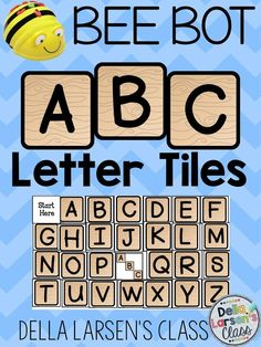 Use coding and robotics to teach reading! A terrific BEEBOT resource.  It's the perfect addition to a literacy or word work block. This BEE-BOT product includes 28 alphabet squares. Each square should be cut out and made into a BEE-BOT mat. Students choose a  letter card and then program the BeeBot to the tile.