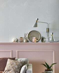Home Decoration Stores Near Me Living Room Interior, Home Living Room, Classic Bedroom Decor, Pink Room, Commercial Interior Design, Pink Walls, Dream Decor, House Colors, Colorful Interiors