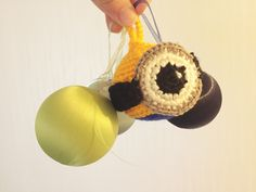 Handmade Knitting Minions 뜨개질 미니언즈 오너먼트