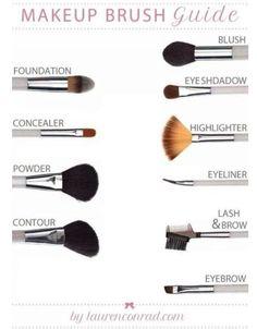 makeup brush tips - Google Search