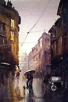 Artist- Ducan Djukaric - water-colour