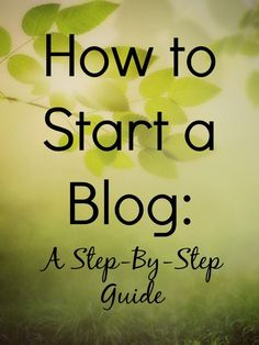 How to Start a Blog with Bluehost: a Step by Step Guide // Money Savvy Living #bloggingtips #newblogger #startablog