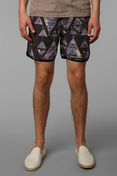 The Critical Slide Society Tee Pee Swim Trunk  #UrbanOutfitters