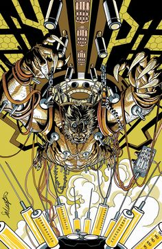 Death of Wolverine: The Weapon X Program #3 cover by Salvador Larroca.