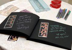 56 Ideas for diy wedding guest book ideas scrapbook Love Scrapbook, Album Photo Scrapbooking, Scrapbook Journal, Wedding Scrapbook, Scrapbook Albums, Wedding Guest Looks, Wedding Guest Book Alternatives, Diy Gifts For Boyfriend, Diy Wedding