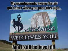 Wyoming is where the Devil's Tower extinct volcanic column is found. U.s. States, United States, Hills And Valleys, Travel Posters, Travel Quotes, Family Road Trips, Greatest Adventure, Travel Alone, Plan Your Trip