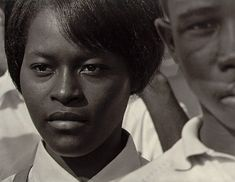 """""""Mississippi freedom marcher, Washington, DC  By Roy Decarava. I do not know this woman's name, but the expression on her face is worth a thousand words."""""""