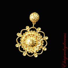 MAGGIE Wedding Crown Roman D&G Set Metal by Elviejewelrydreams