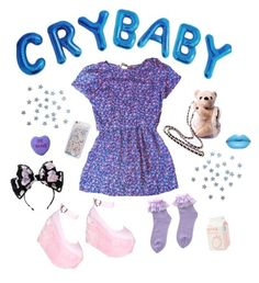 """""""crybaby"""" by summertime-madness ❤ liked on Polyvore featuring Sugarbaby and Nokia"""