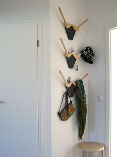 'deer' hanger rack by lore loffler