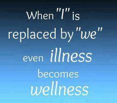 Illness vs Wellness