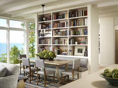 Amnager Une Bibliothque Comment Procder Dining Room StorageDining RoomsBookshelf IdeasBookcaseBookshelvesLaundry