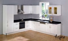 The model and color of the kitchen cabinets are very effective on the style of decoration of the kit Modern Kitchen Interiors, Kitchen Models, Country Kitchen, Kitchen Cabinets, The Originals, Home Decor, Kitchens, Trendy Tree, Ideas