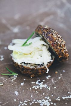 paleo bread + quick-pickled fennel