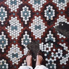 Wild About Hexagon Tile