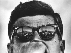 We do these things not because they are easy, but because they are hard. JFK on his wayfarer steeze.