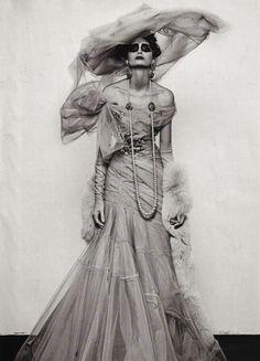 Steven Klein for Vogue Italia (September 2007). Dior Haute Couture