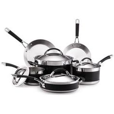 Wolfgang Puck 15-Piece Cookware Set, Silver Review http ...