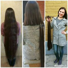 Rapunzel Hair, Long Hairstyle, Super Long Hair, Beautiful Long Hair, Long Hair Cuts, Cut Off, Haircuts, Hair Beauty, Floor