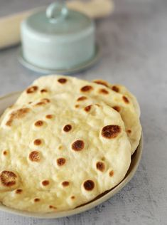 Easy Yoghurt Flatbreads | Kids Eat by Shanai. Made with just 2 ingredients and ready in minutes!