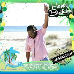 "Happy Birthday Gramps Morgan!!! Grammy award winning Reggae recording artist of the group ""Morgan's Heritage"" was born of Jamaican descent!!! Today we celebrate you!!! @grampsmorgan #grampsmorgan #islandpeeps #islandpeepsbirthdays #morgansheritage #reggae #dontaffydreadtobearasta #royalfamilyofreggae"